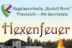 Plakat-Hexenfeuer